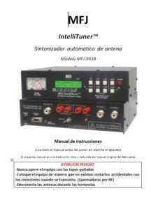 Instrucciones acoplador MFJ-993B Español