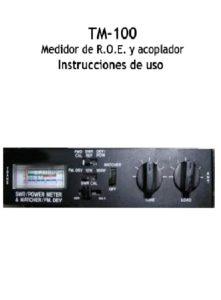 Instrucciones TM-100