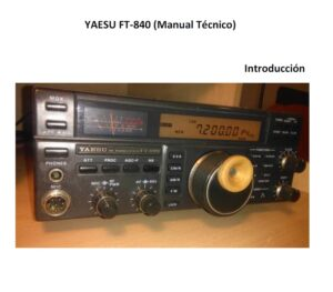Yaesu FT-840 suplemento técnico